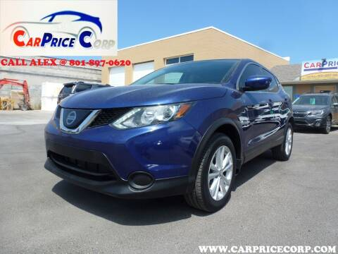 2019 Nissan Rogue Sport for sale at CarPrice Corp in Murray UT