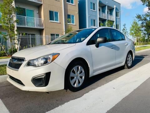 2012 Subaru Impreza for sale at LA Motors Miami in Miami FL