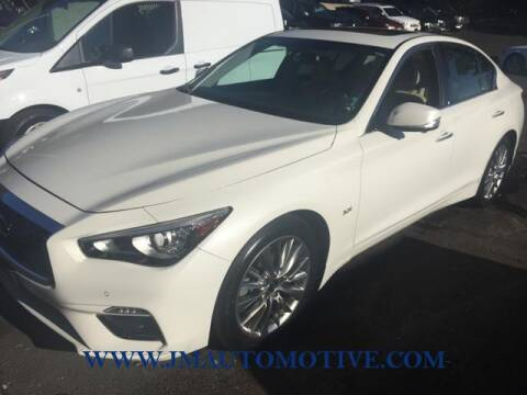 2018 Infiniti Q50 for sale at J & M Automotive in Naugatuck CT