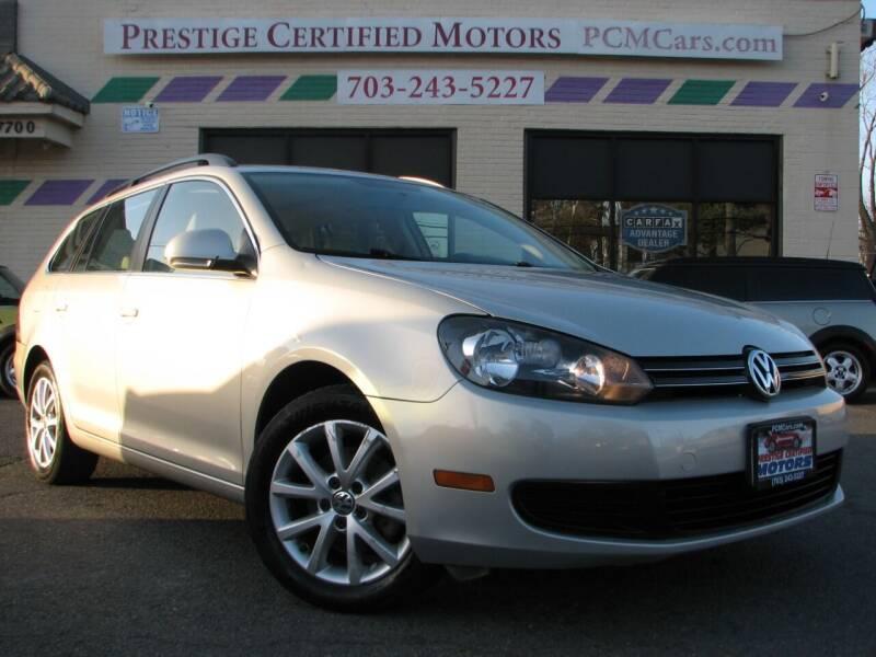 2010 Volkswagen Jetta for sale at Prestige Certified Motors in Falls Church VA