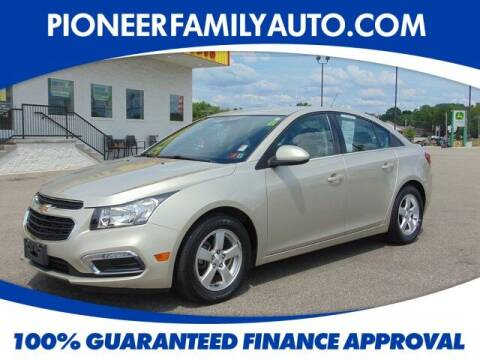 2016 Chevrolet Cruze Limited for sale at Pioneer Family Preowned Autos in Williamstown WV