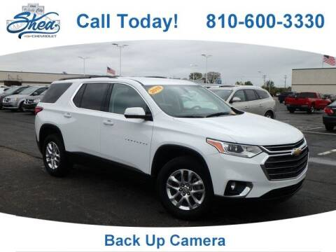 2019 Chevrolet Traverse for sale at Erick's Used Car Factory in Flint MI