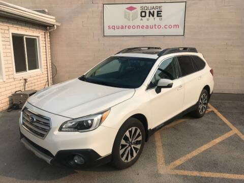 2015 Subaru Outback for sale at SQUARE ONE AUTO LLC in Murray UT