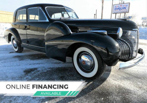 1940 Cadillac Series 60 for sale at Druk Auto Sales in Ramsey MN