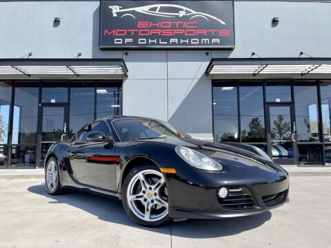 2009 Porsche Cayman for sale at Exotic Motorsports of Oklahoma in Edmond OK