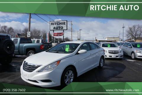 2011 Hyundai Sonata for sale at Ritchie Auto in Appleton WI