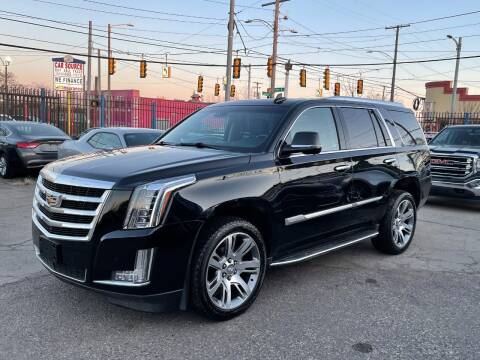 2016 Cadillac Escalade for sale at SKYLINE AUTO in Detroit MI