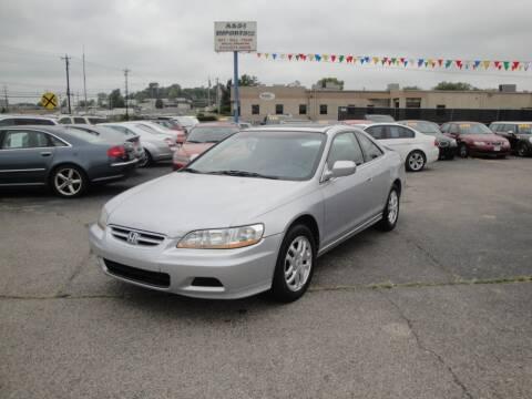 2002 Honda Accord for sale at A&S 1 Imports LLC in Cincinnati OH