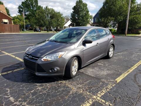 2012 Ford Focus for sale at USA AUTO WHOLESALE LLC in Cleveland OH