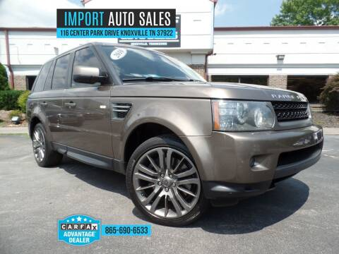 2010 Land Rover Range Rover Sport for sale at IMPORT AUTO SALES in Knoxville TN