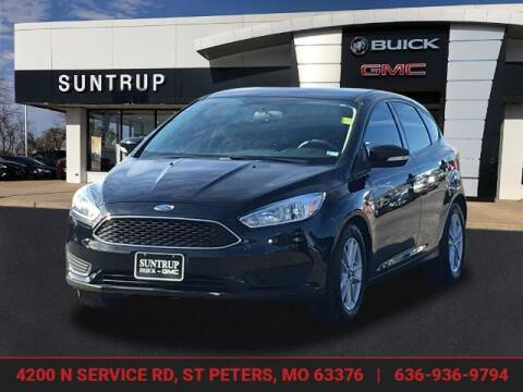 2017 Ford Focus for sale at SUNTRUP BUICK GMC in Saint Peters MO