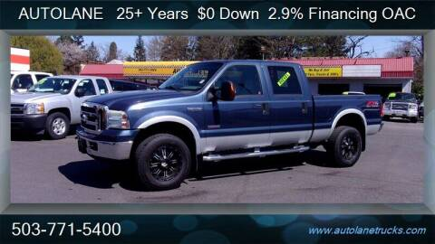 2005 Ford F-350 Super Duty for sale at Auto Lane in Portland OR