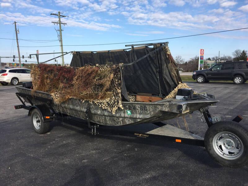 2014 War Eagle 17ft for sale at Village Motors in Sullivan MO