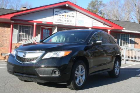 2013 Acura RDX for sale at Peach State Motors Inc in Acworth GA