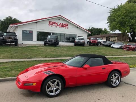 1996 Chevrolet Corvette for sale at Efkamp Auto Sales LLC in Des Moines IA