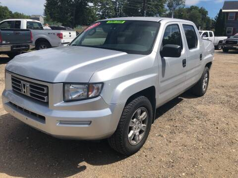 2007 Honda Ridgeline for sale at Winner's Circle Auto Sales in Tilton NH