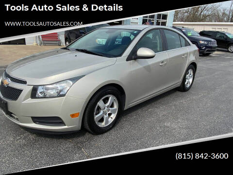 2013 Chevrolet Cruze for sale at Tools Auto Sales & Details in Pontiac IL