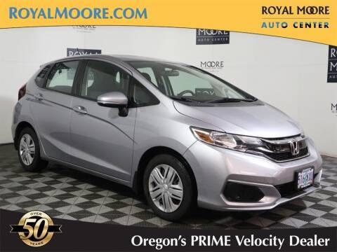 2018 Honda Fit for sale at Royal Moore Custom Finance in Hillsboro OR
