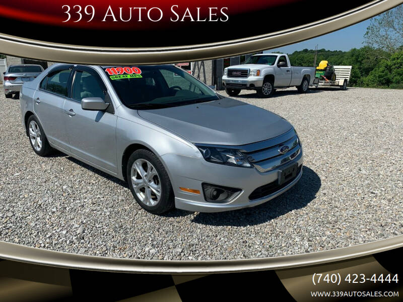 2012 Ford Fusion for sale at 339 Auto Sales in Belpre OH