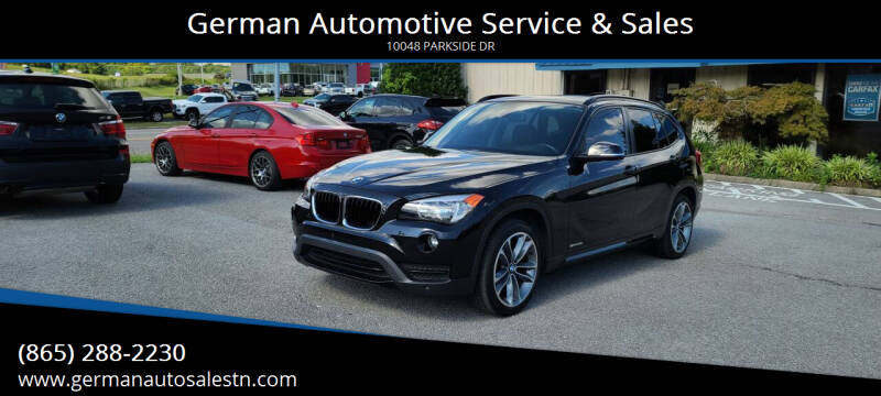 2013 BMW X1 for sale at German Automotive Service & Sales in Knoxville TN