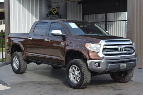 2016 Toyota Tundra for sale at G MOTORS in Houston TX