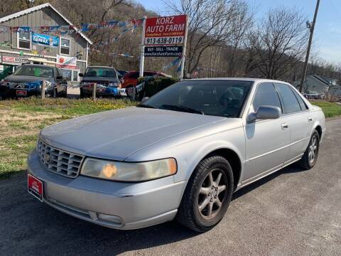 2002 Cadillac Seville for sale at Korz Auto Farm in Kansas City KS