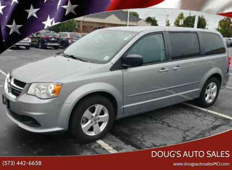 2013 Dodge Grand Caravan for sale at Doug's Auto Sales in Columbia MO