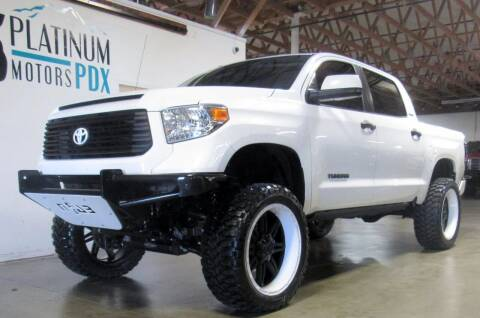 2015 Toyota Tundra for sale at Platinum Motors in Portland OR