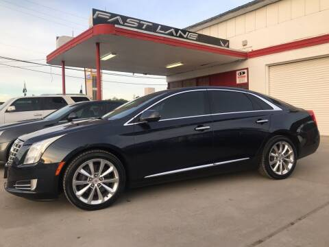 2013 Cadillac XTS for sale at FAST LANE AUTO SALES in San Antonio TX
