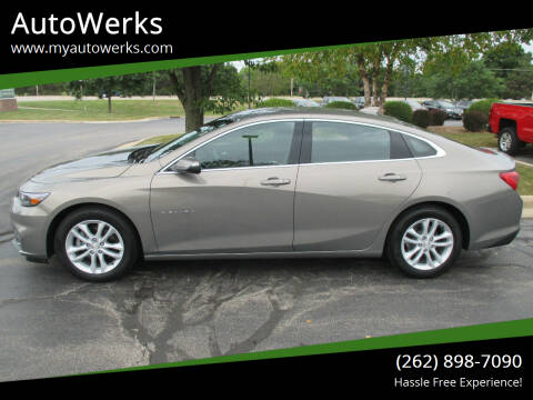 2017 Chevrolet Malibu for sale at AutoWerks in Sturtevant WI