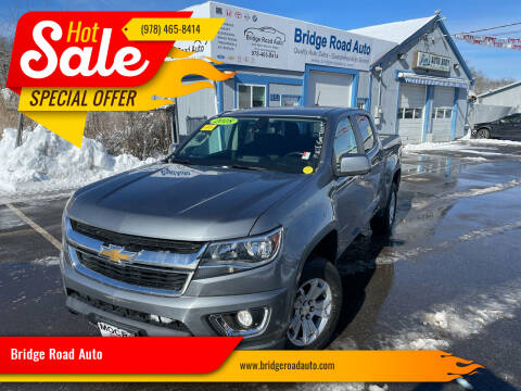 2018 Chevrolet Colorado for sale at Bridge Road Auto in Salisbury MA
