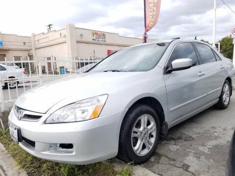 2006 Honda Accord for sale at Olympic Motors in Los Angeles CA
