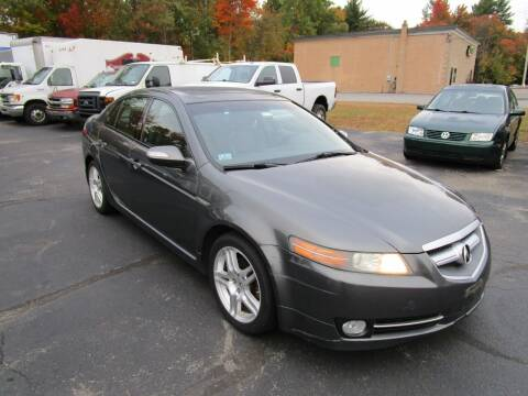 2008 Acura TL for sale at Route 12 Auto Sales in Leominster MA