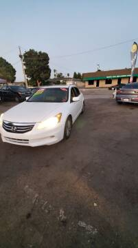 2012 Honda Accord for sale at LR AUTO INC in Santa Ana CA