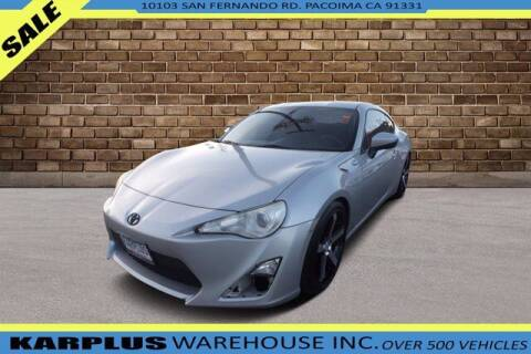 2013 Scion FR-S for sale at Karplus Warehouse in Pacoima CA