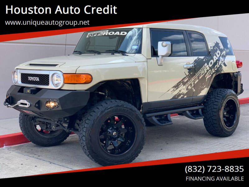 2008 Toyota FJ Cruiser for sale at Houston Auto Credit in Houston TX