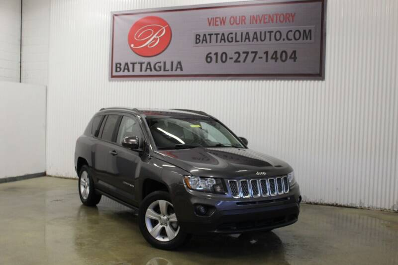 2016 Jeep Compass for sale at Battaglia Auto Sales in Plymouth Meeting PA