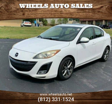 2010 Mazda MAZDA3 for sale at Wheels Auto Sales in Bloomington IN