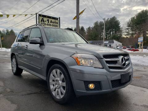 2012 Mercedes-Benz GLK for sale at A-1 Auto in Pepperell MA