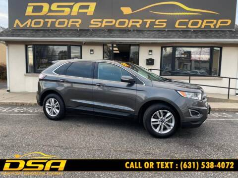 2017 Ford Edge for sale at DSA Motor Sports Corp in Commack NY