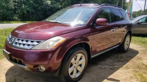 2006 Nissan Murano for sale at Ray's Auto Sales in Elmer NJ