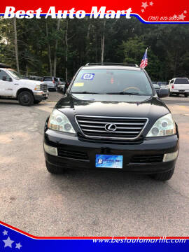 2005 Lexus GX 470 for sale at Best Auto Mart in Weymouth MA