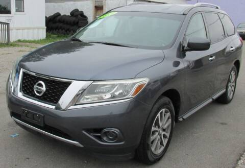 2014 Nissan Pathfinder for sale at Express Auto Sales in Lexington KY