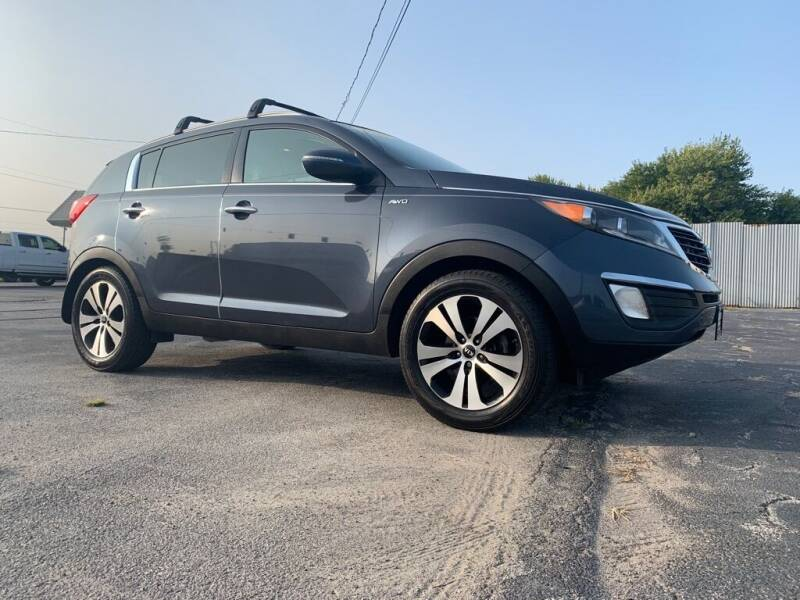 2013 Kia Sportage for sale at Access Auto Wholesale & Leasing in Lowell IN