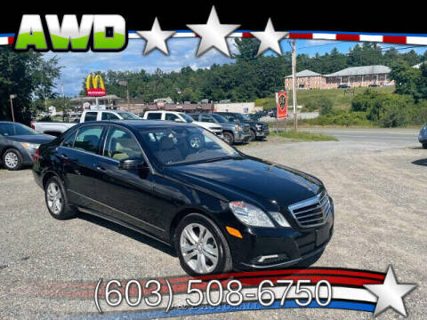 2010 Mercedes-Benz E-Class for sale at J & E AUTOMALL in Pelham NH