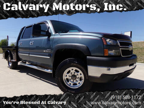 2006 Chevrolet Silverado 2500HD for sale at Calvary Motors, Inc. in Bixby OK