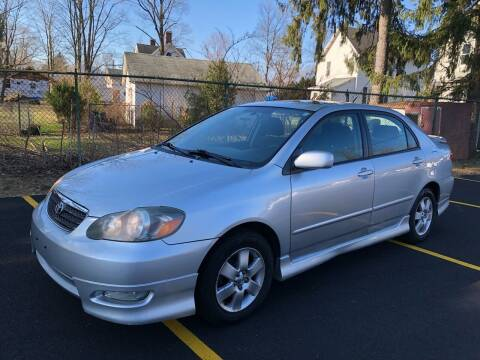 2007 Toyota Corolla for sale at AMERI-CAR & TRUCK SALES INC in Haskell NJ