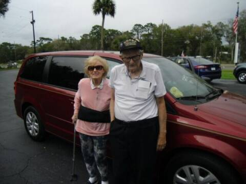 2015 Dodge Grand Caravan for sale at HOGSTEN AUTO WHOLESALE in Ocala FL