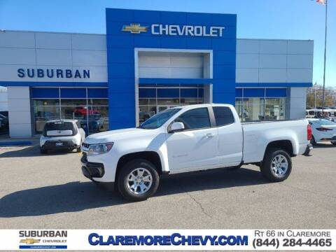 2021 Chevrolet Colorado for sale at Suburban Chevrolet in Claremore OK