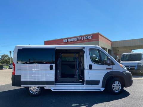 2017 RAM ProMaster Cargo for sale at The Mobility Van Store in Lakeland FL